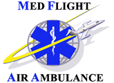 Med Flight Air Ambulance, Inc.  Logo